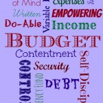 Tips for creating and sticking with a written budget from Sisters Shopping on a Shoestring