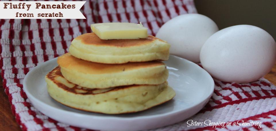 homemade pancake recipe