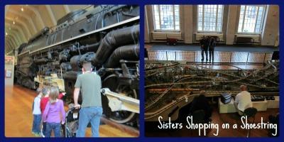 Henry Ford Trains www.sistersshoppingonashoestring.com