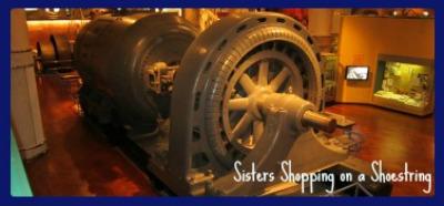Henry Ford engine www.sistersshoppingonashoestring.com