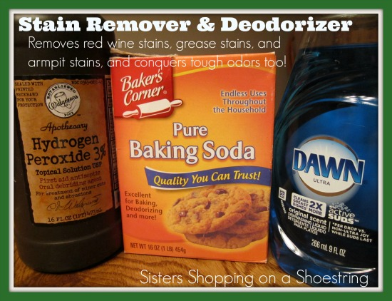 Homemade Super Stain Remover