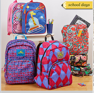Zulily Bookbags, Lunchboxes and more! - Sisters Shopping on a ...