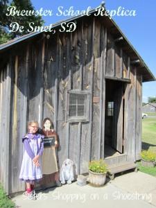 Visiting Laura's Little Houses--De Smet, SD  www.sistersshoppingonashoestring.com