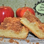 Apple Streusel Cake Two Pieces