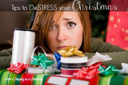 christmas destress