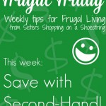 Frugal Friday second hand