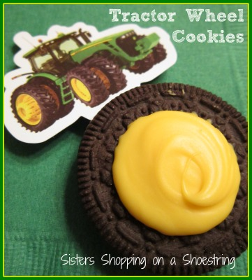 John deer wheel cookies