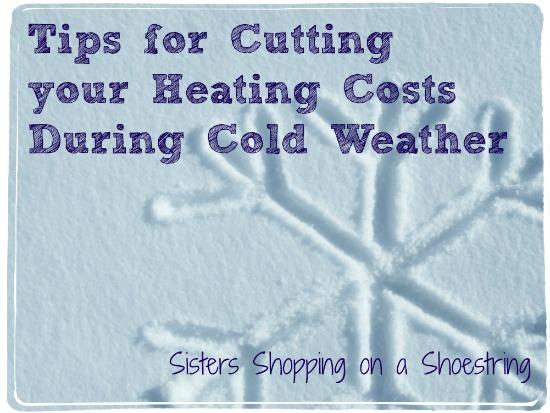 Cut heating costs