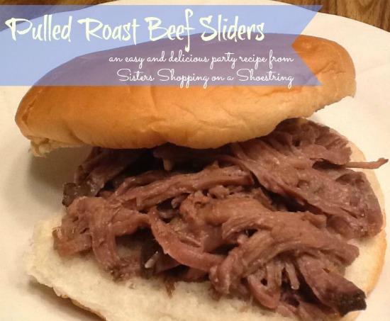 Pulled Roast Beef Sandwich