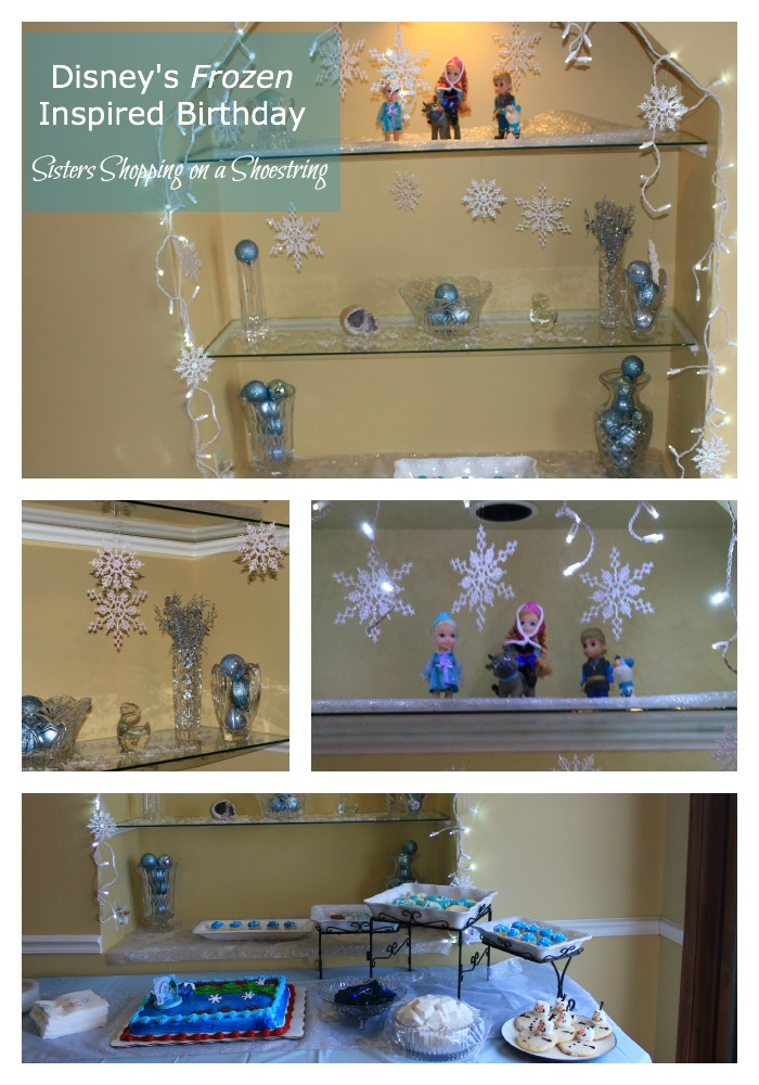 disney frozen birthday party decorating