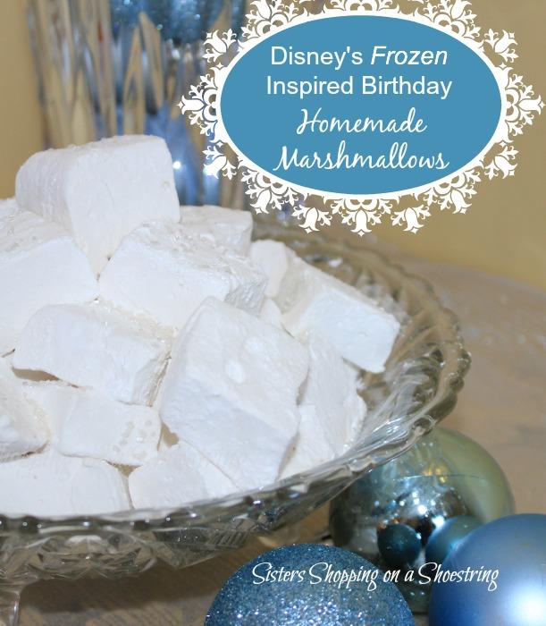disney frozen marshmallows