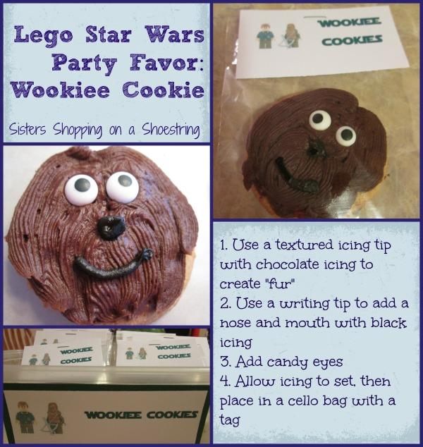 Lego Wookiee Cookie