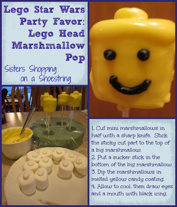 Lego Star Wars Birthday Party: Homemade Party Favor Ideas – Sisters ...