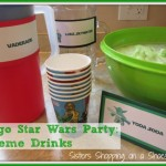 Lego star wars drinks