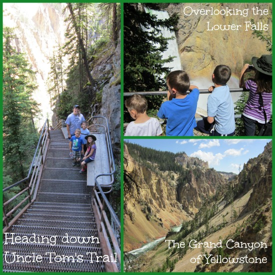 Yellowstone with Kids Uncle Tom's Trail