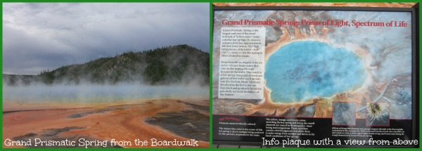 Yellowstone with Kids Grand Prismatic Spring