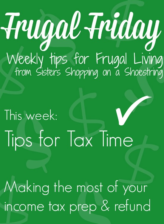 Frugal Friday taxes