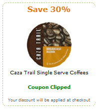 Clippable coupons