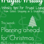 Frugal Friday Christmas