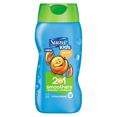 Suave Kids Peach 2 in 1 ShampooConditioner Just 055 At