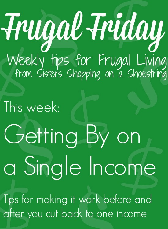 Frugal Friday single income
