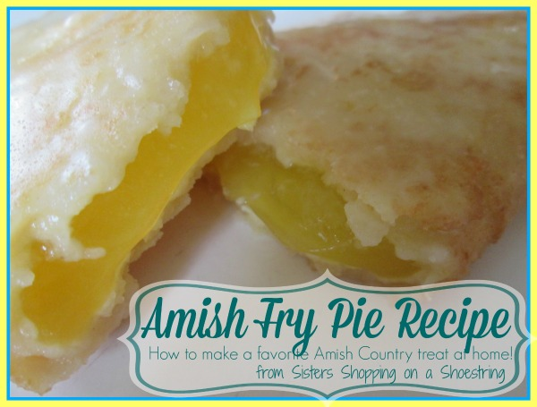 Amish Fry Pie Recipe