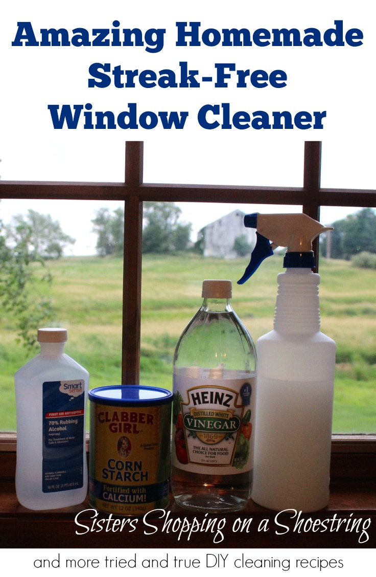 vinegar window cleaner amazing and streak free sisters shopping farm and home. Black Bedroom Furniture Sets. Home Design Ideas