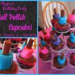nail polish cupcakes