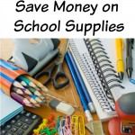 ways to save money on school supplies