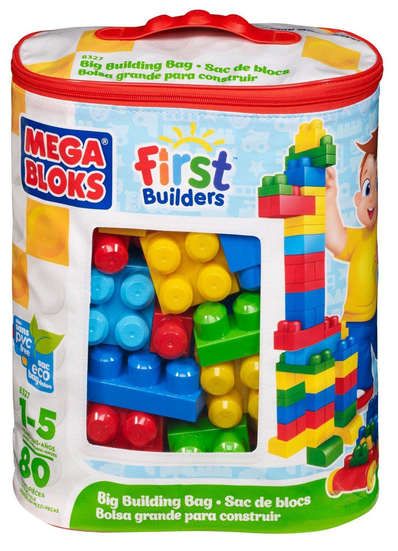 Mega bloks first builders big building bag only for Builders first