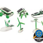 solar robots kit