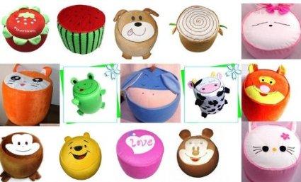 Cute Cartoon Animal Inflatable Stools