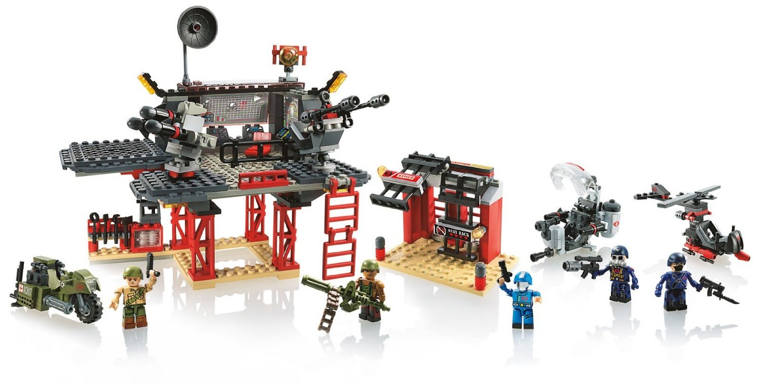 KRE-O GI Joe Battle Platform Attack