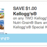Kellogg's Nutri-Grain Bars Coupon