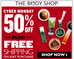 the body shop cyber monday sale sisters shopping farm and home. Black Bedroom Furniture Sets. Home Design Ideas