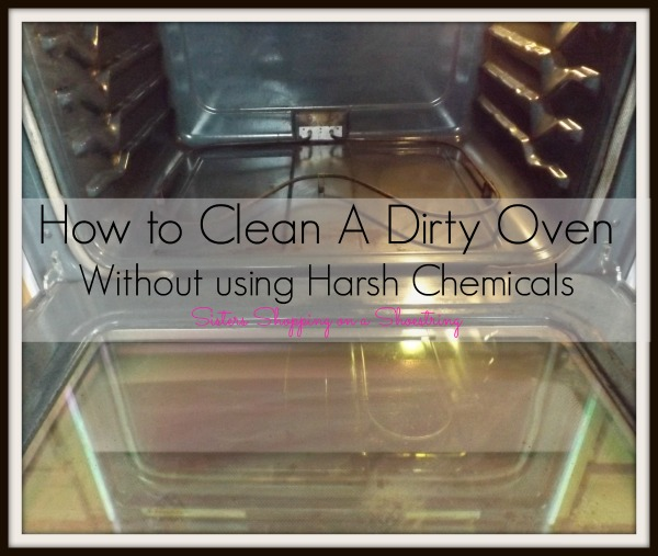 How To Clean An Oven Without Harsh Chemicals Even A Really Disgusting One