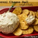 Pepperoni Cheese Ball 1 pinterest