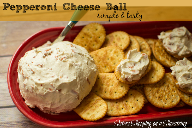 Super Bowl Pepperoni Cheese Ball Sisters Shopping Farm And Home