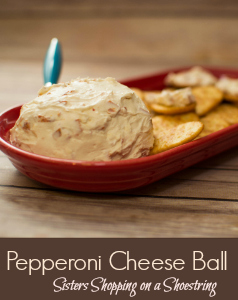 Pepperoni Cheese Ball Recipe 2
