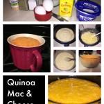 quinoa mac & cheese steps