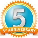5 anniversary