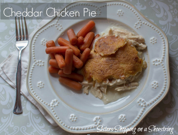 cheddar chicken pie