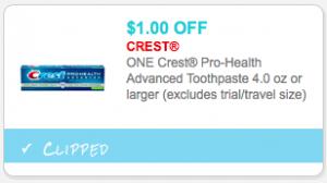 Crest mouthwash coupons 2018