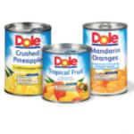 dole canned fruit