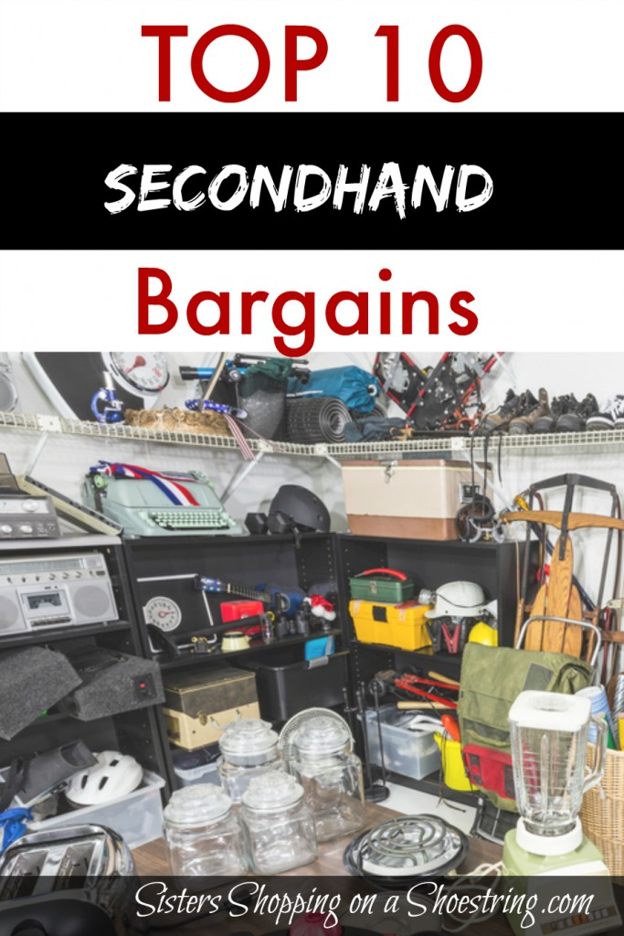 top 10 bargains at secondhand