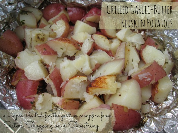 Garlic Butter Redskin Potatoes