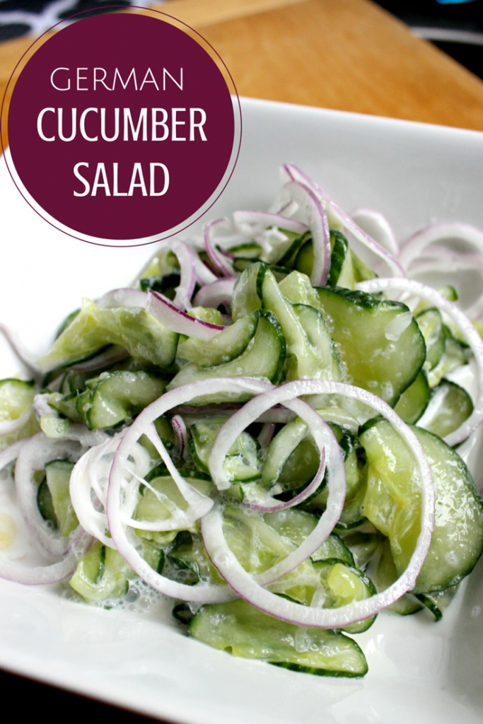 German-Cucumber-Salad