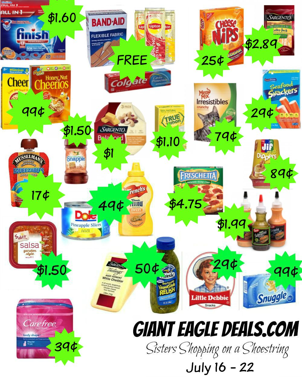 Giant Eagle kuponger, kupong tilbud og tilbud av dagen