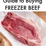 freezer beef
