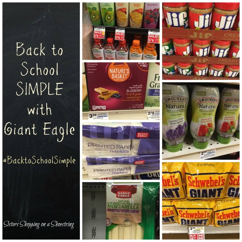 Giant Eagle back to school store pics